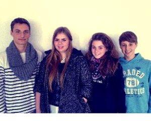 Daniel, Charleen, Antonia & Leon