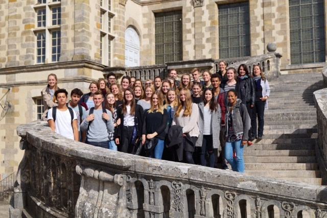 Franzosen und Berliner Fontainebleau
